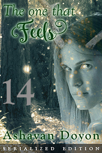 The One That Feels by Ashavan Doyon, serialized edition, chapter 14, cover